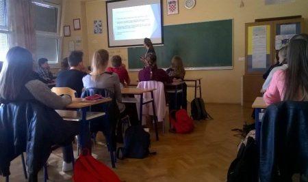 Predavanje o zaštiti na radu u Elektrotehničkoj i ekonomskoj školi Nova Gradiška
