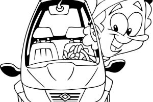 taxi-driver-coloring-page